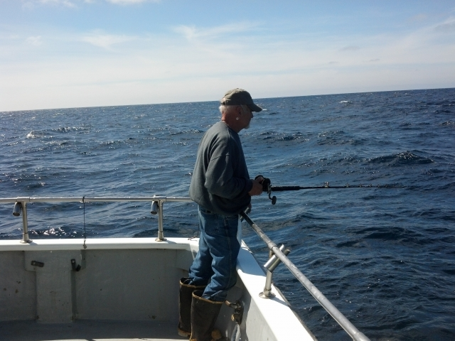 Jim Waiting For A Fish To Hit